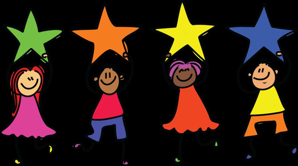 Star kids . Drama clipart theater