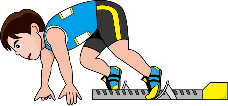 Race clipart track and field.  collection of kids