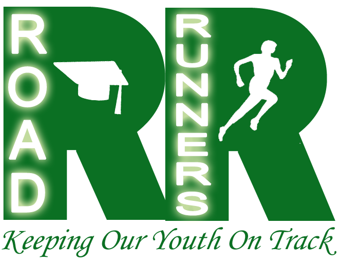 Road runners track keeping. Club clipart youth club