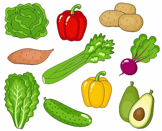 Clipart kid vegetable.  creative painting ideas