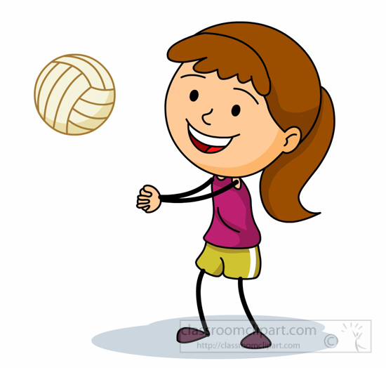 Kid png images pngio. Volleyball clipart sport