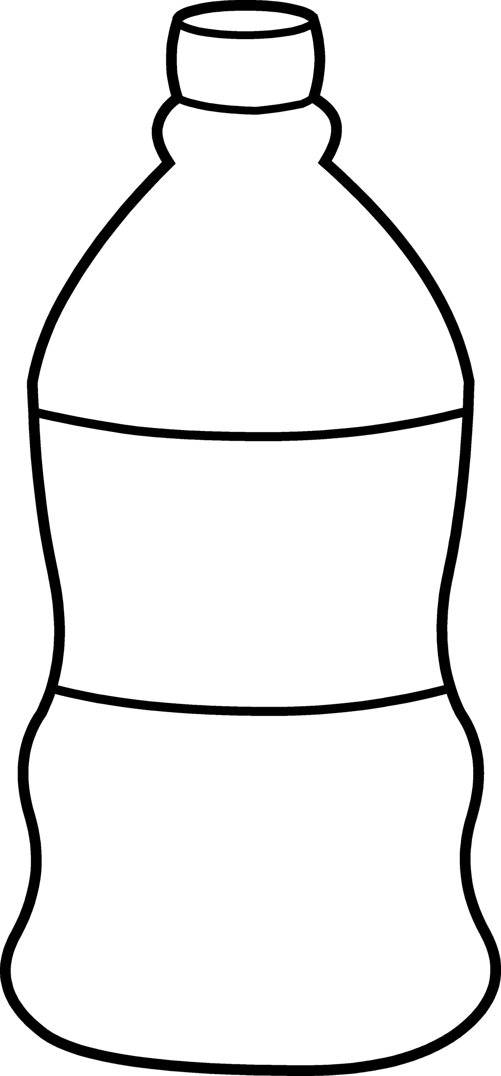 Bottle drawing at getdrawings. Coloring clipart water