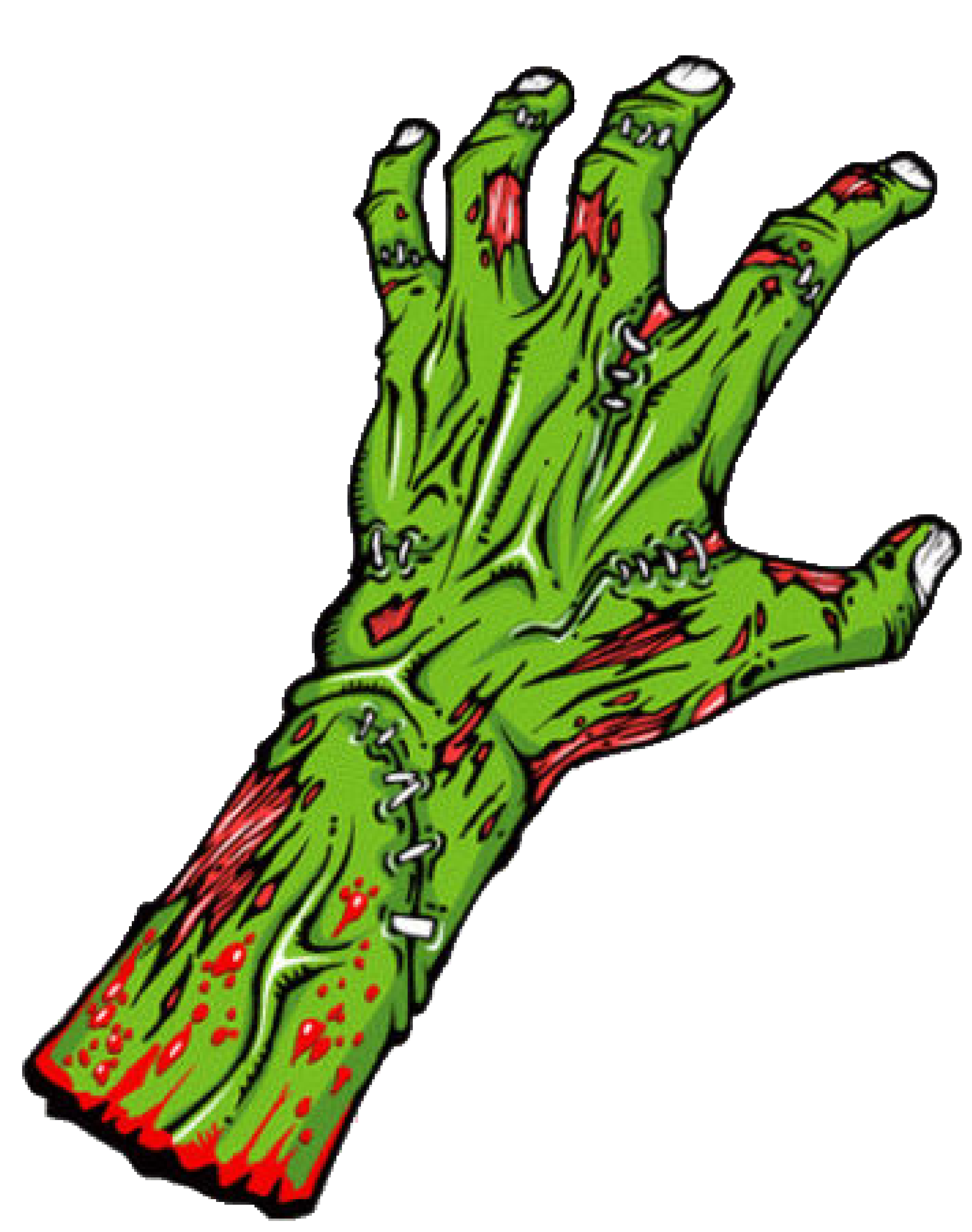 Cool kid clipartix. Zombie clipart vector