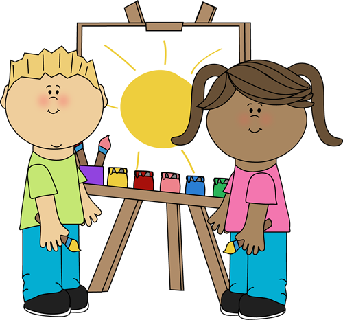 Clipart kids. Free clip art my