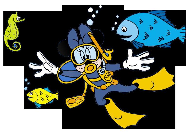 Couple clipart scuba diving. Mickey goofy donald google