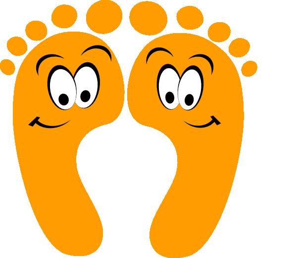 Free cartoon feet download. Clipart kids foot