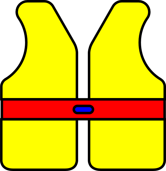 Life jacket drawing at. Ladder clipart safety