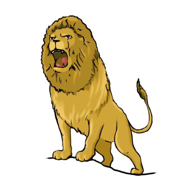 Lion clipart loin. To draw lions and