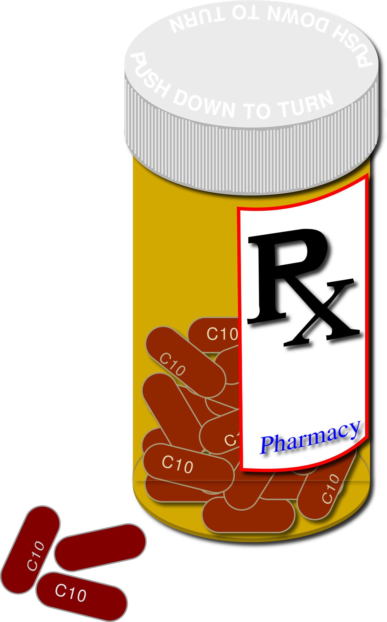 collection of medicines. Medication clipart medecine