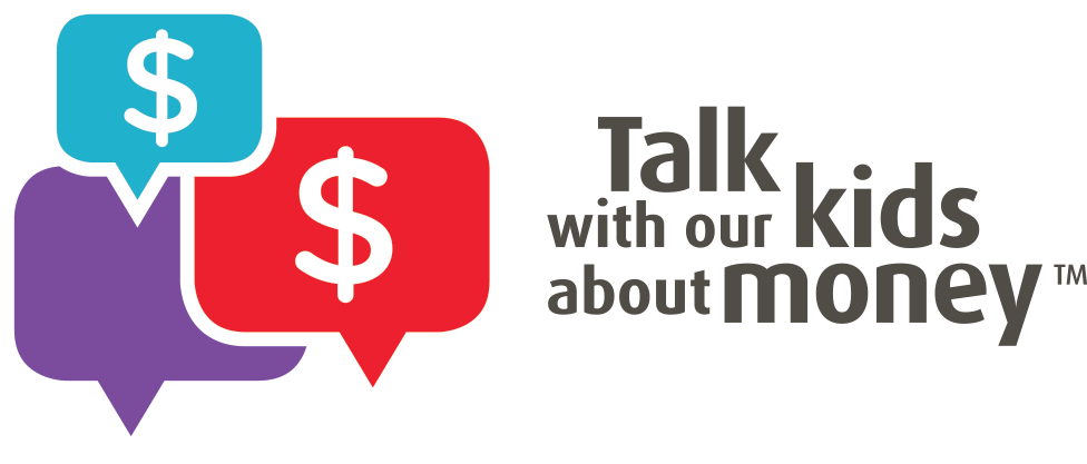 Talk with our kids. Kid clipart money