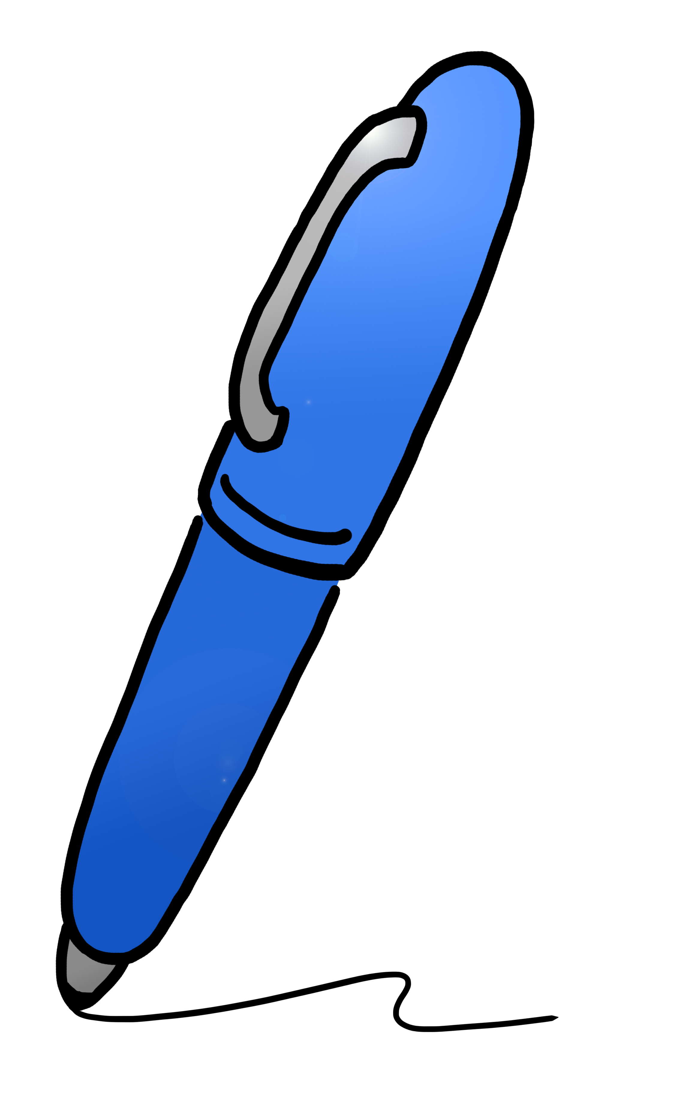 collection of pen. Clipart kids pencil