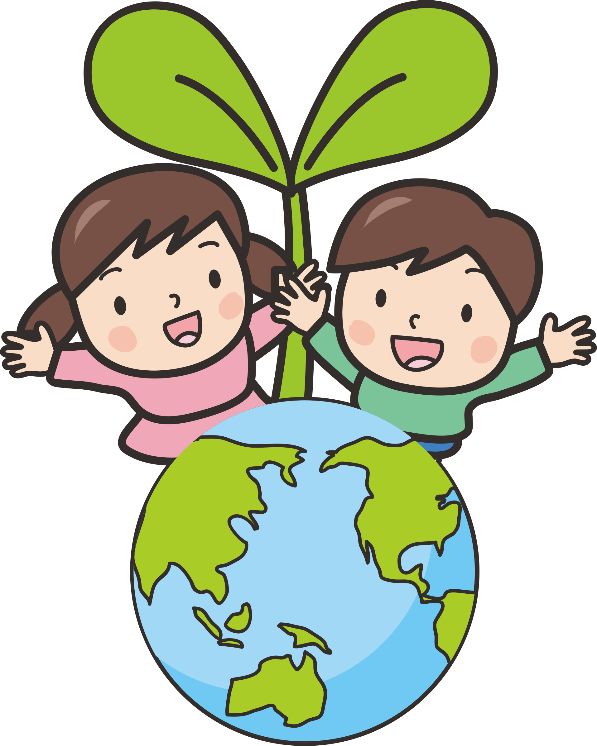Planet kid. Clipart free download on