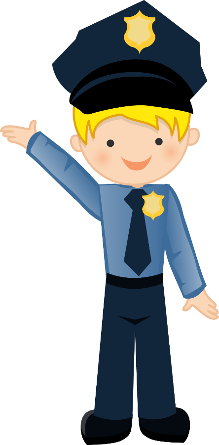 Kids clipart police officer.  collection of cute