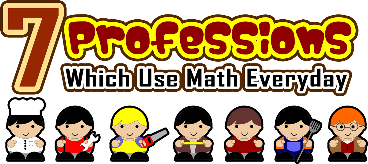 Fraction clipart everyday use.  professions which math
