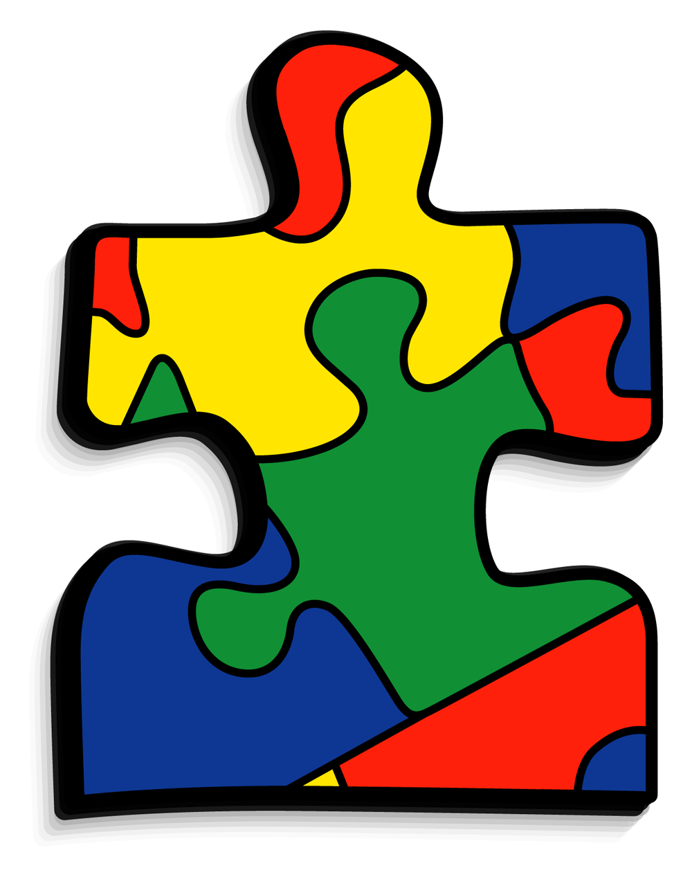 collection of autism. Puzzle clipart consideration
