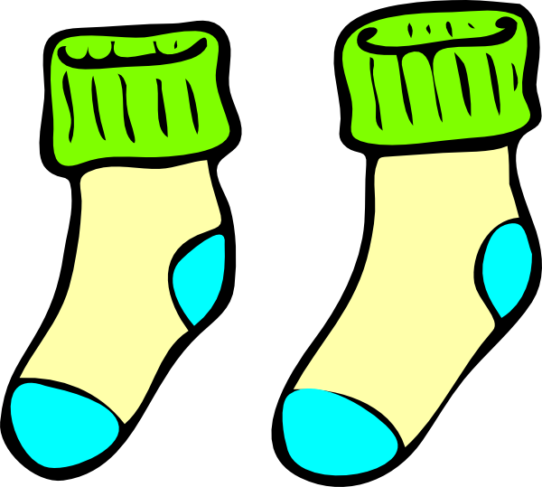 Wednesday clipart sock. Socks border cliparts free