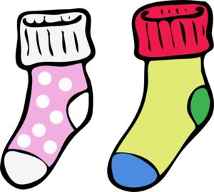 Kids clip art library. Clipart socks winter