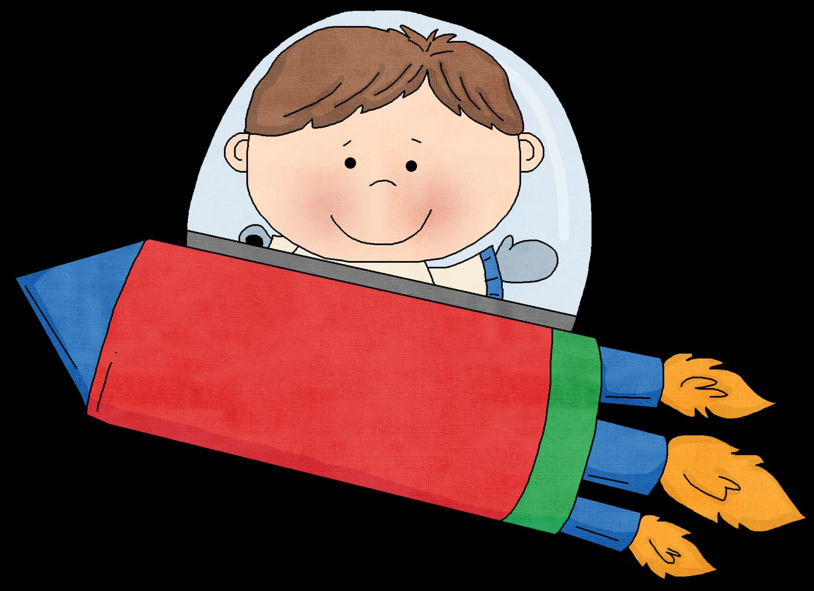 collection of rocket. Preschool clipart october