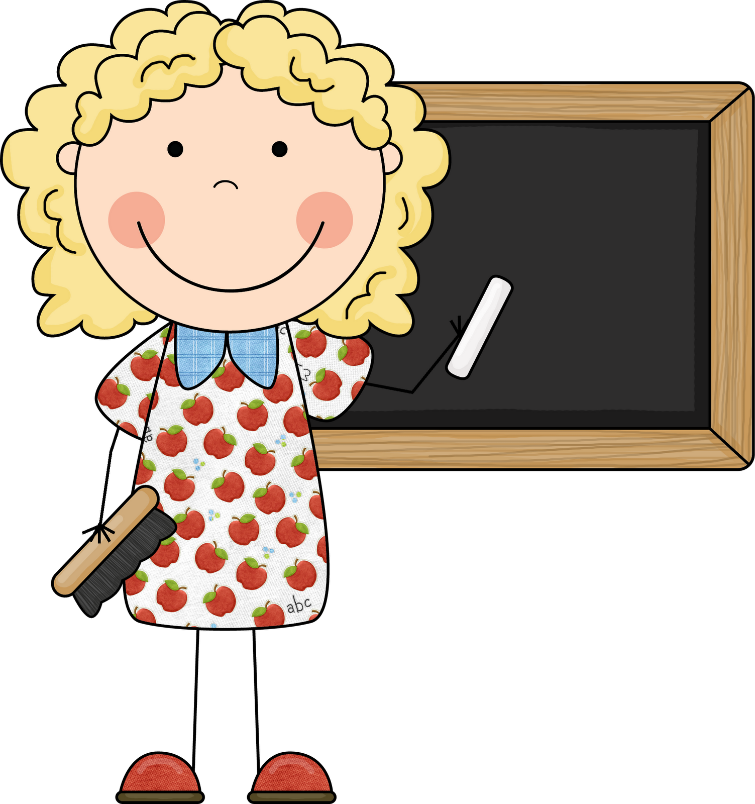 kindergarten clipart teacher