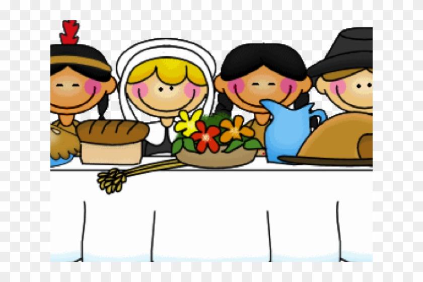 Thanksgiving kids . Feast clipart celebration