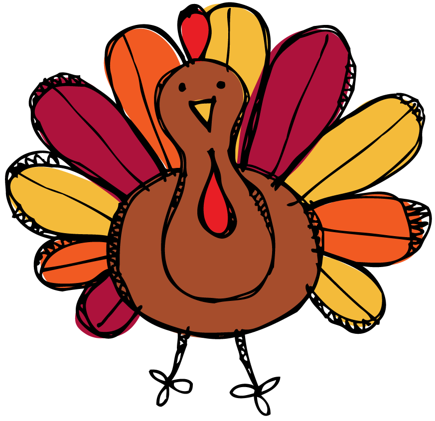 Moon township public library. Clipart reading thanksgiving