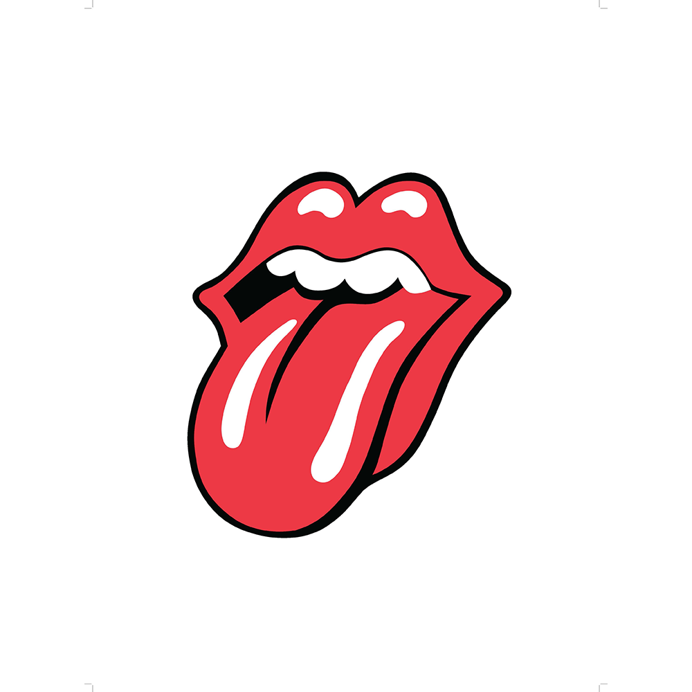 Taste clipart lip tongue. Logos the rolling stones