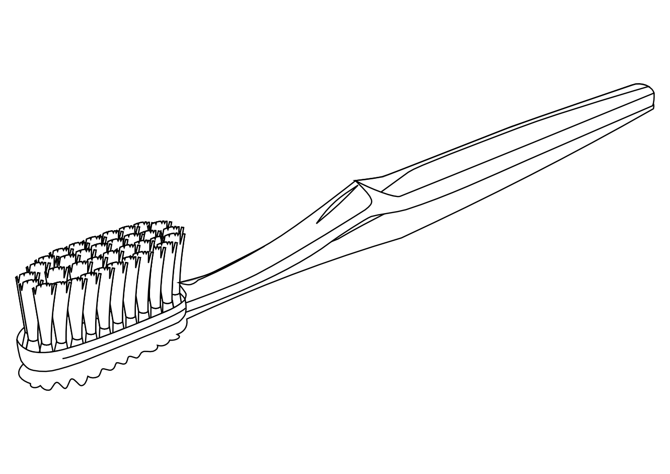 Kid clipart toothbrush.  collection of black
