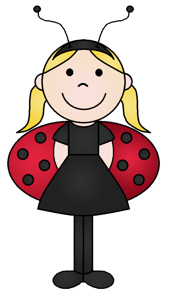 Graphics by ruth halloween. Ladybug clipart kid