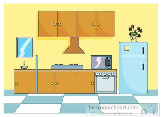 Clipart kitchen. Free clip art pictures