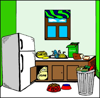 Free graphics images and. Clipart kitchen