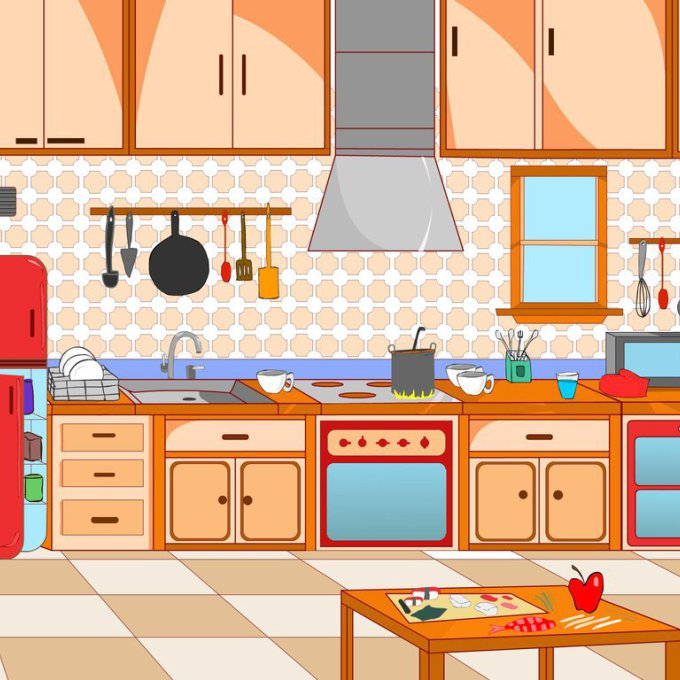 Kitchen clipart, Kitchen Transparent FREE for download on ...