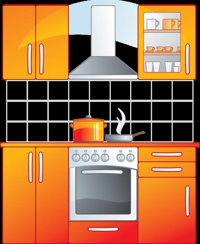 D c png clip. Kitchen clipart kitchen furniture