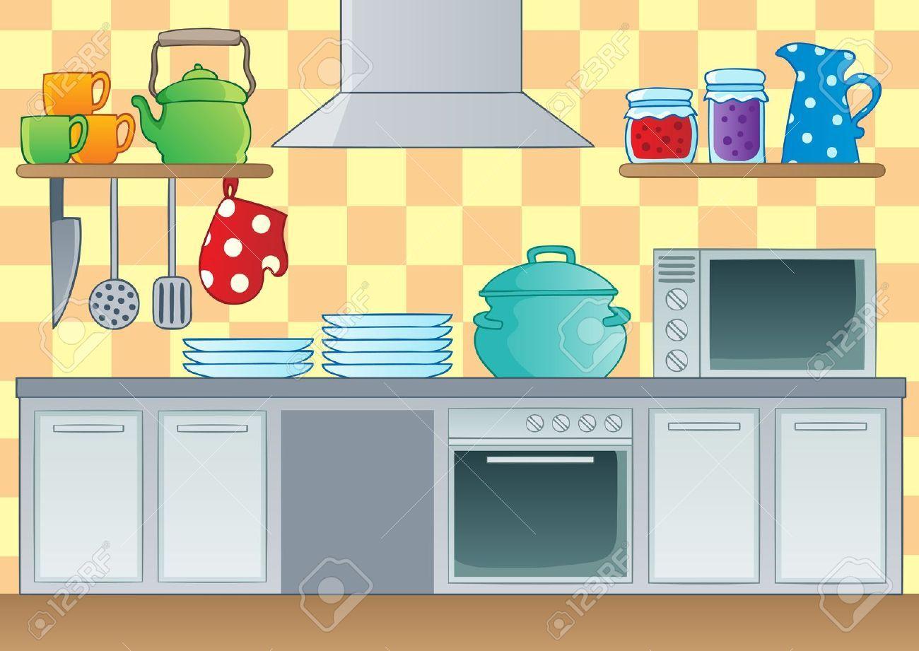 Clipart kitchen cartoon. Buscar con google the