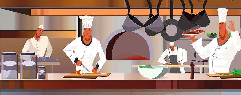 Restaurants clipart restaurant kitchen. Starting a new commercial