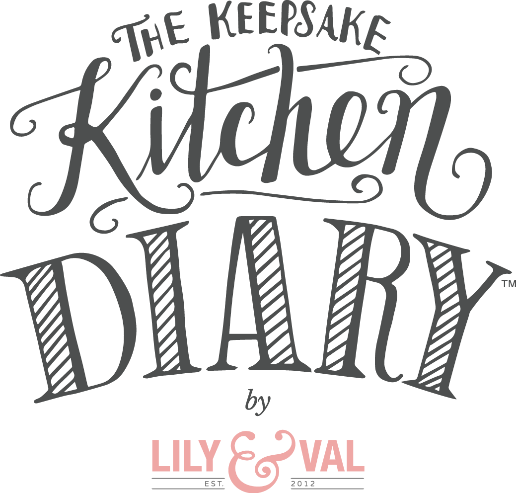Memories clipart calligraphy. The keepsake kitchen diary