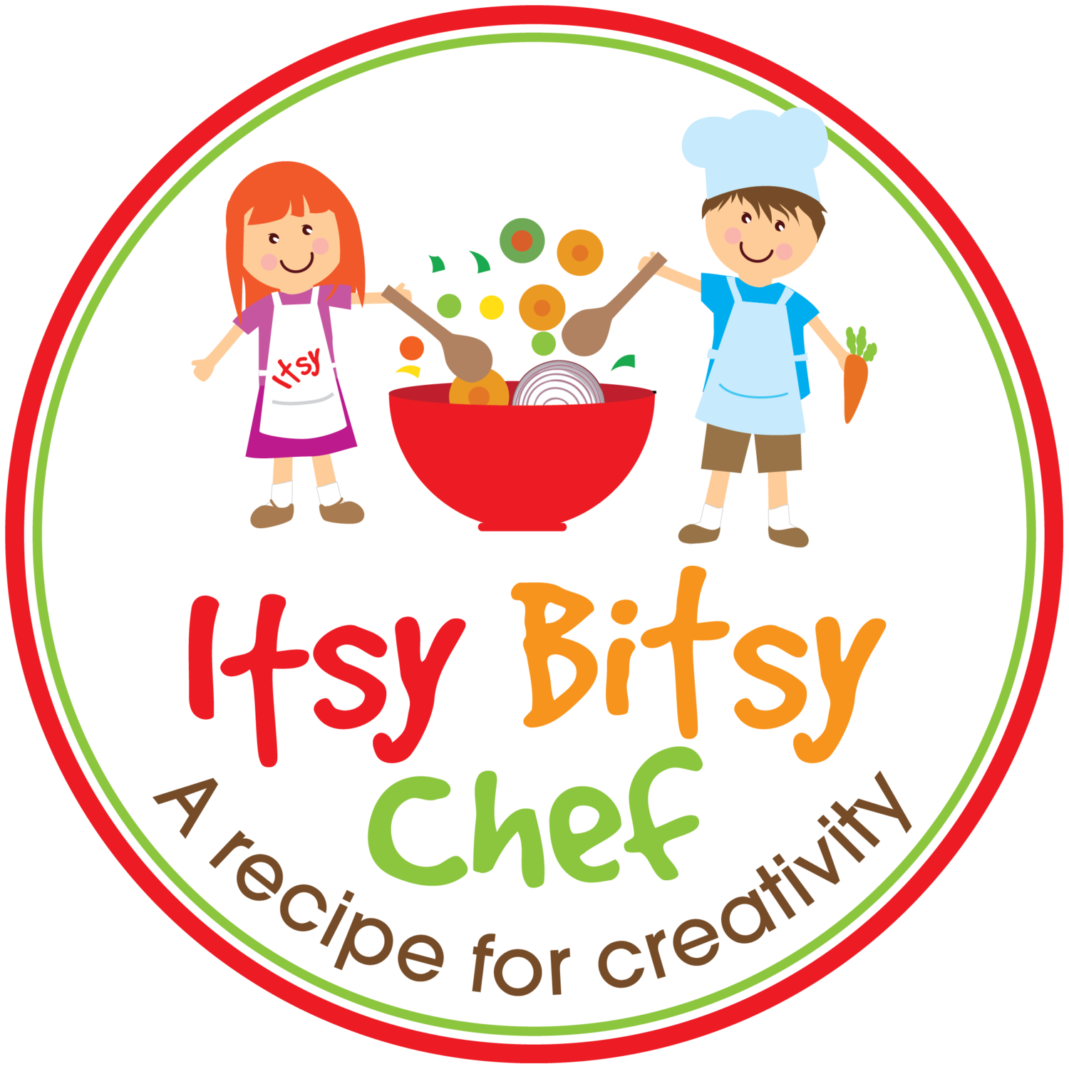 Cook clipart cooking show. Itsy bitsy chef an