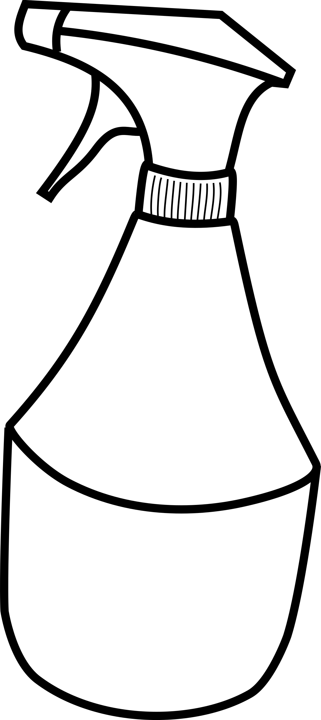 Squirt bottle big image. Clipart kitchen crockery
