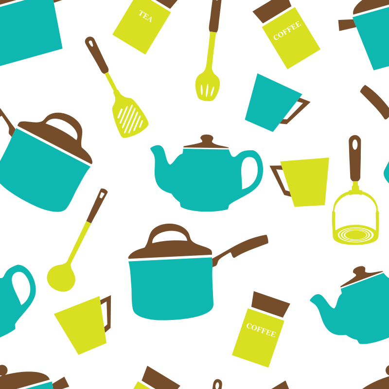 Utensils wallpaper medium image. Clipart kitchen crockery