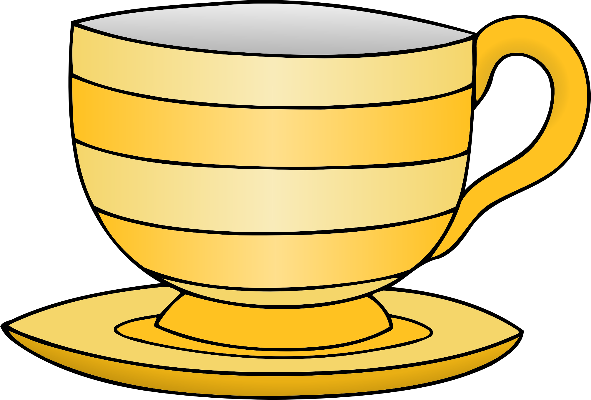 Teacup big image png. Clipart kitchen crockery