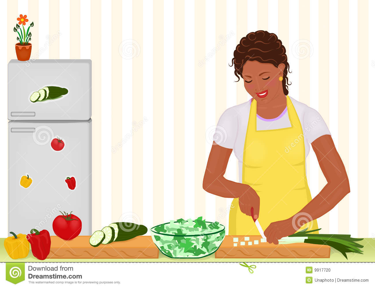 Cooking station . Clipart kitchen culinary