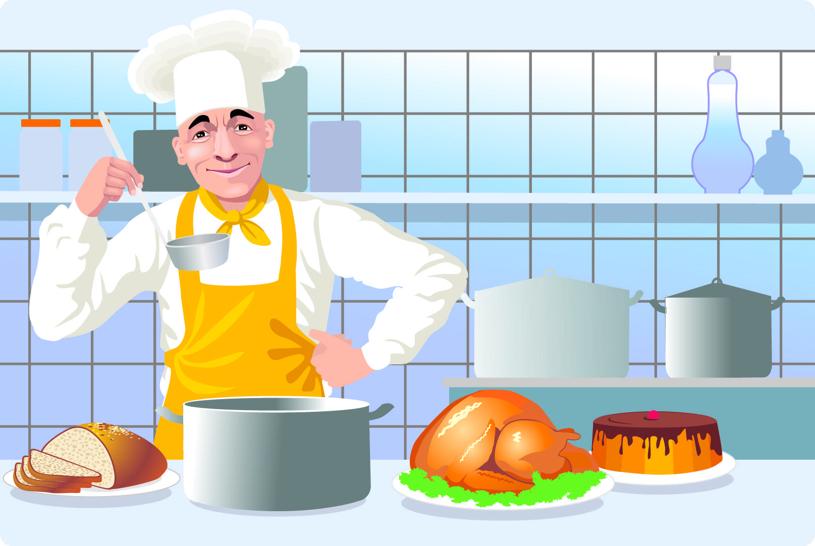 Clipart kitchen culinary. Cooking wikiclipart