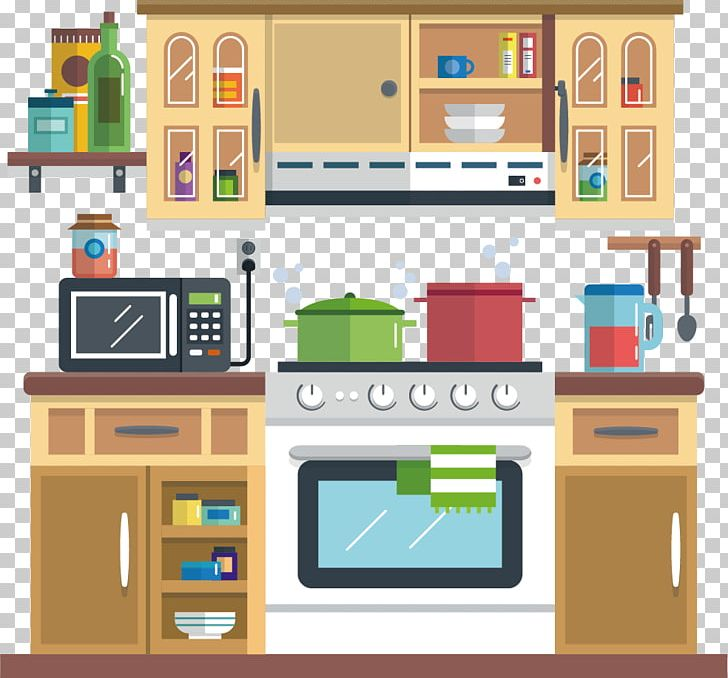 Shelf illustration graphics png. Clipart kitchen drawing