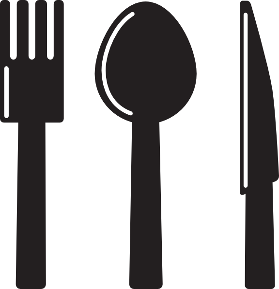 Utensils clip art at. Clipart kitchen family kitchen