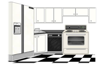 Free house cliparts download. Clipart kitchen home
