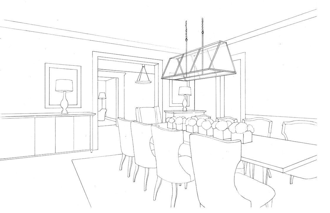 Planning clipart construction drawing. Interior design at getdrawings