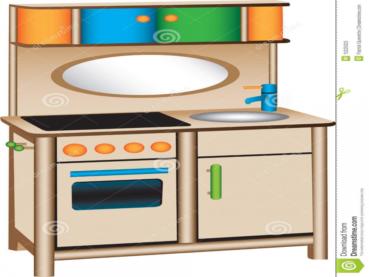 Dramatic play center free. Cookbook clipart toy kitchen