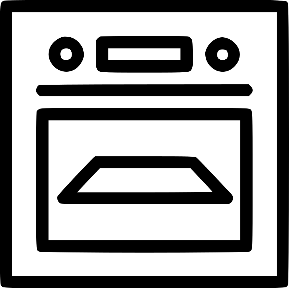 Clipart kitchen kitchen appliance. Cooking oven appliances svg