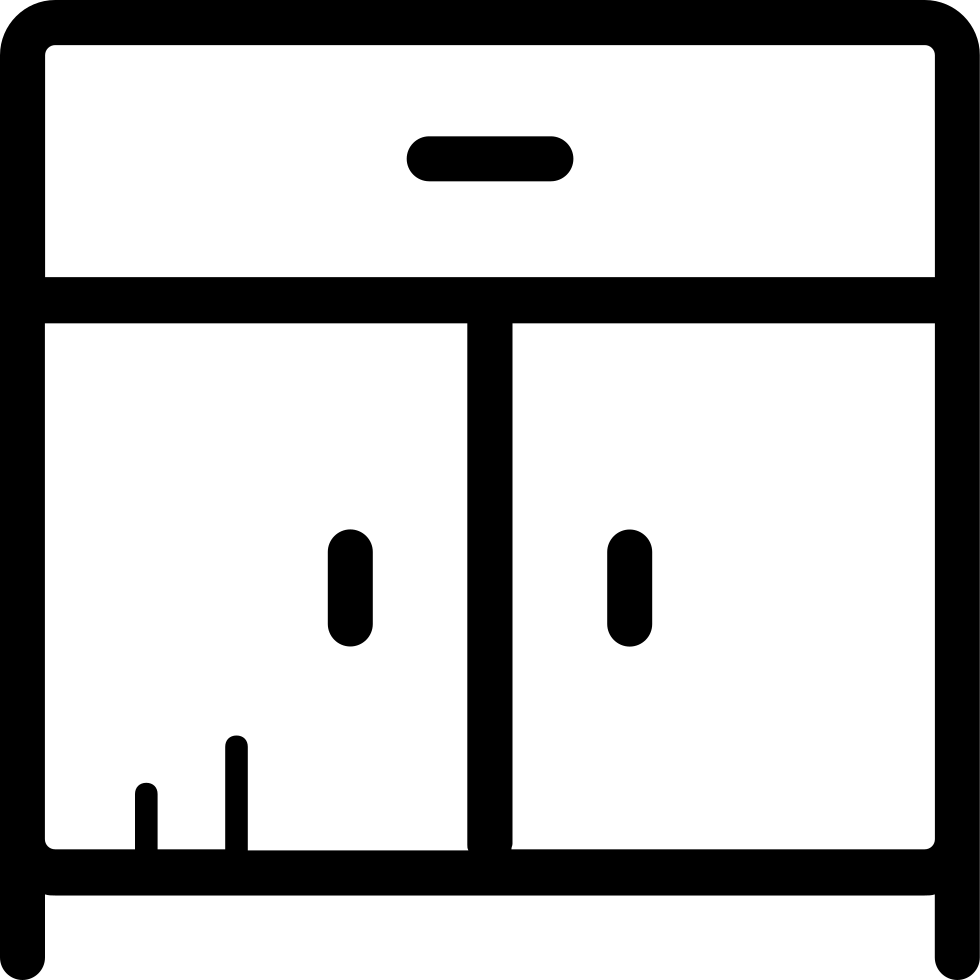 Svg png icon free. Kitchen clipart kitchen cabinet