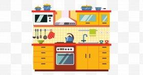 Home appliance clip art. Clipart kitchen kitchen cabinet