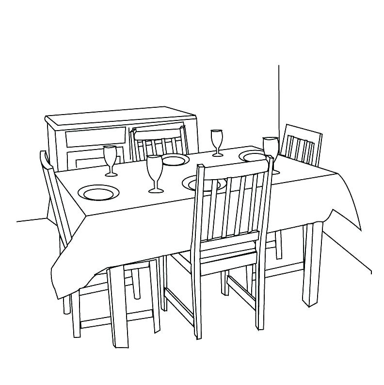 Clipart kitchen kitchen dining room. Table clip art kbbi